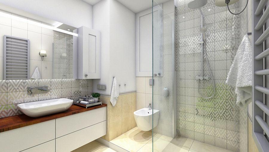 wnętrze łazienki wizualizacja efco